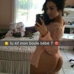 Zina, algérienne à gros boule en selfie