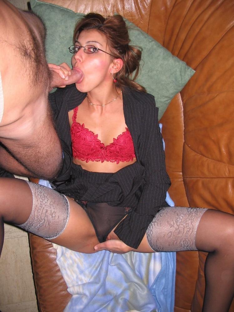 Karima suce son homme